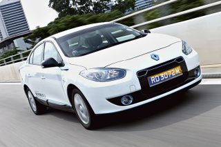 The Renault Fluence Z.E.