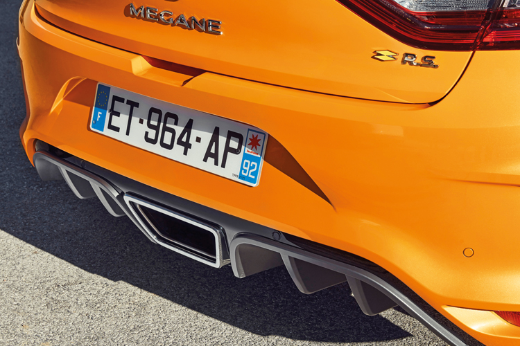 renault megane rs exhaust