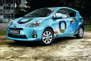 A gentle driving style and light traffic should give the Toyota Prius C a theoretical range of 900km from its 36-litre fuel tank.