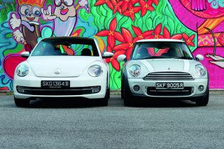 vw-beetle-and-mini-cooper