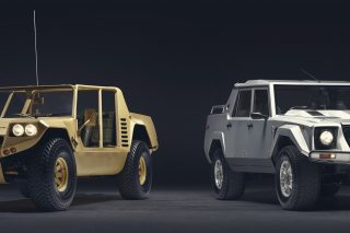 The Lamborghini LM002 is the Italian godfather of luxury SUVs and the grandfather of the Urus super-SUV.