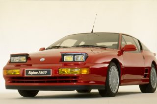 Alpine's last sports car, the A610, was the third and final development of a V6-powered model line that started with the A310 in 1976 and continued with the GTA in 1985.