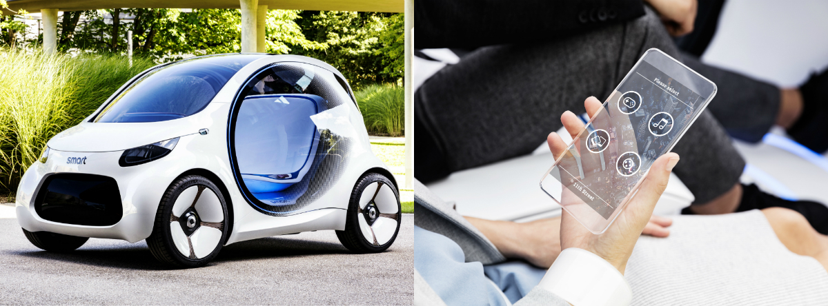 Smart's Vision EQ Fortwo is an autonomous electric vehicle which will revolutionise the motoring landscape.