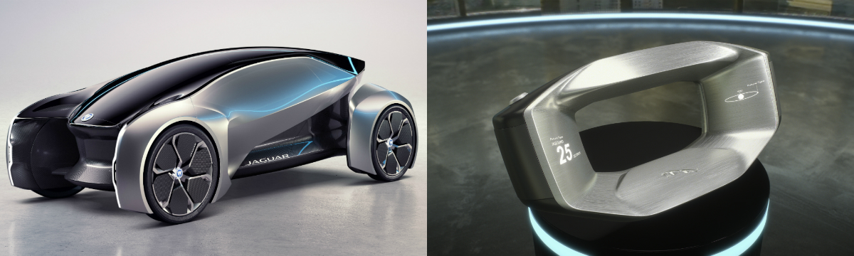 Jaguar's Future-Type Concept is an autonomous electric vehicle which will revolutionise the motoring landscape.