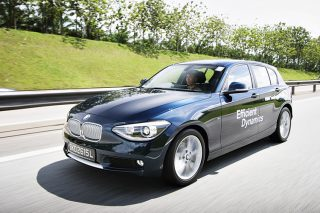 bmw 116i front tracking