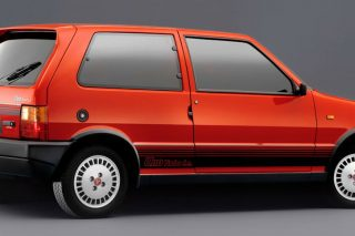 My old Italian hot hatch was a 1992 Fiat Uno Turbo Mk 2, said to have been one of seven in Singapore.