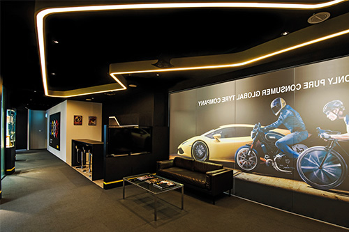 Pirelli means precision, performance, excellence and design