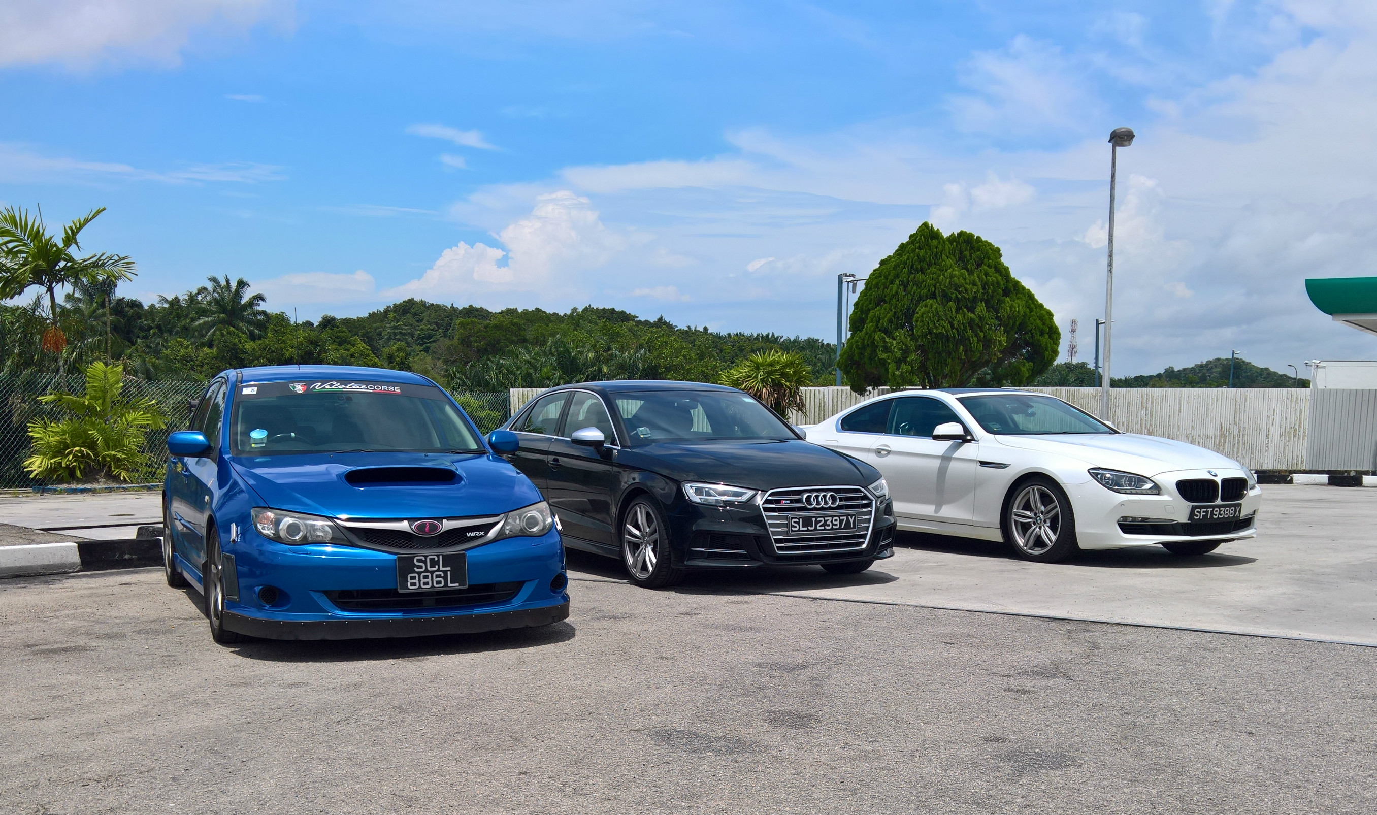 The writer drove up in an Audi S3, with his buddies in a Subaru WRX and a BMW 650i, and rediscovered the joys of an early-morning B-road blast in Malaysia.