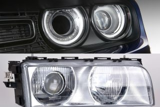 We troubleshoot a possible problem with the headlights of this person's car.