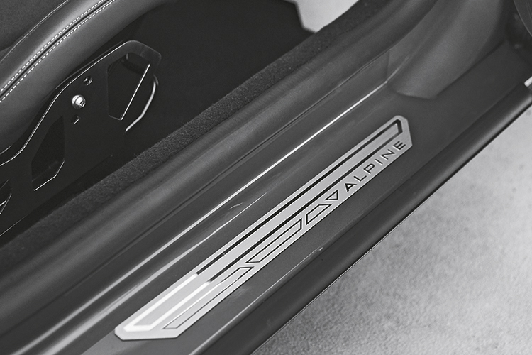 alpine a110 door sills
