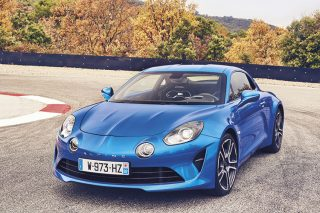 alpine a110 front static