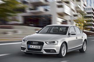 audi a4 front tracking