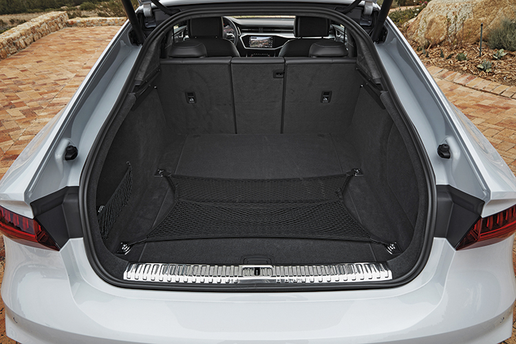 Flexible cargo hold has 40:20:40 split-folding rear seats and an elastic cargo net, but its 535-litre capacity (seats up) is identical to the older model's.