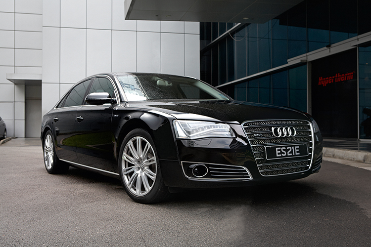 Audi A8 W12 >> Audi A8 W12 Is An A8 Armed With A Dazzling Dozen Cylinders