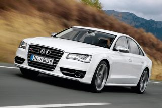 audi s8 front tracking