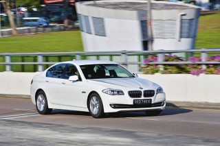 bmw 520i front tracking