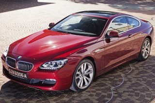 bmw 640i coupe front static