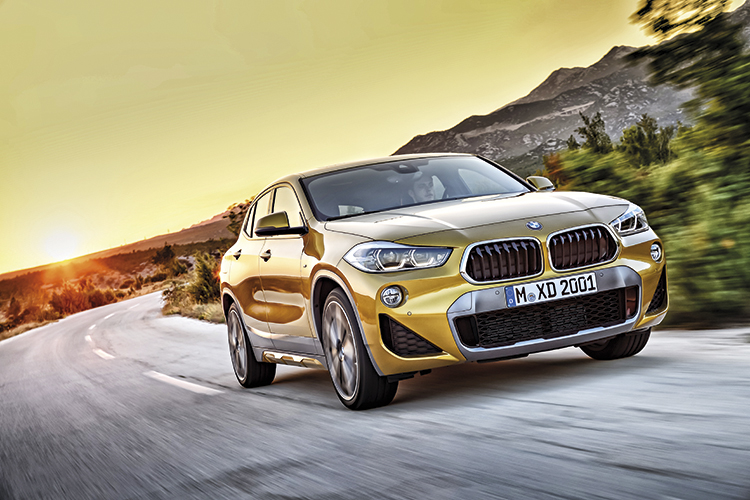 bmw x2 front tracking