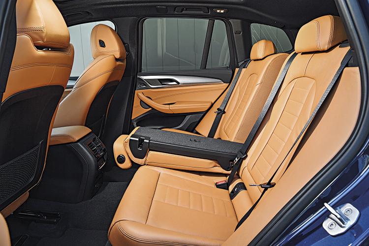 bmw x3 backseat