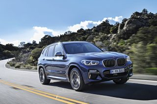 bmw x3 front tracking