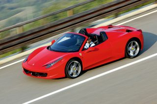 Whether stationary or on the move, the Ferrari 458 Spider simply scintillates.