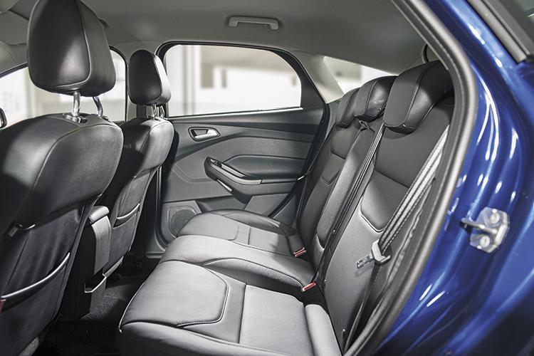 Ford Focus – Backseat