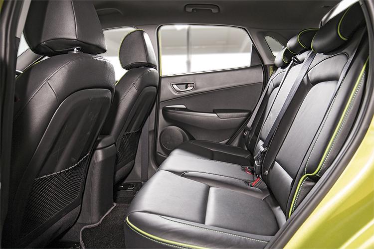 Hyundai Kona – Backseat