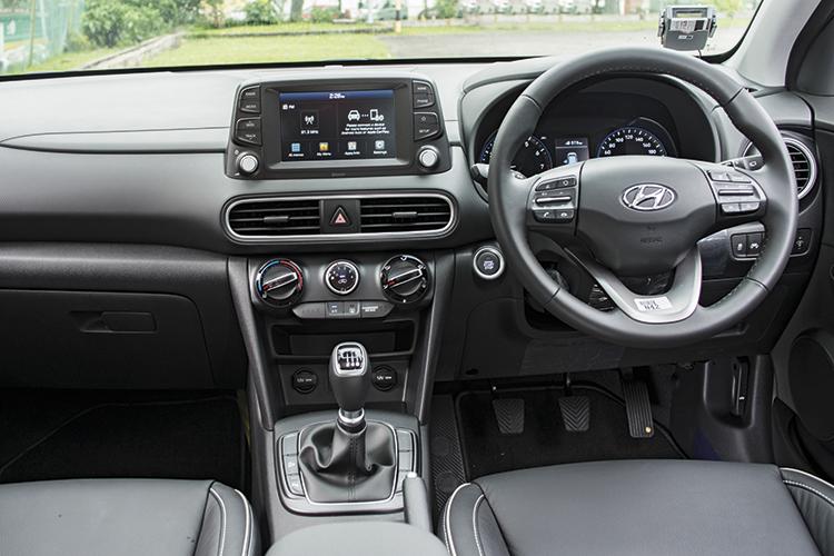 Hyundai Kona – Cockpit