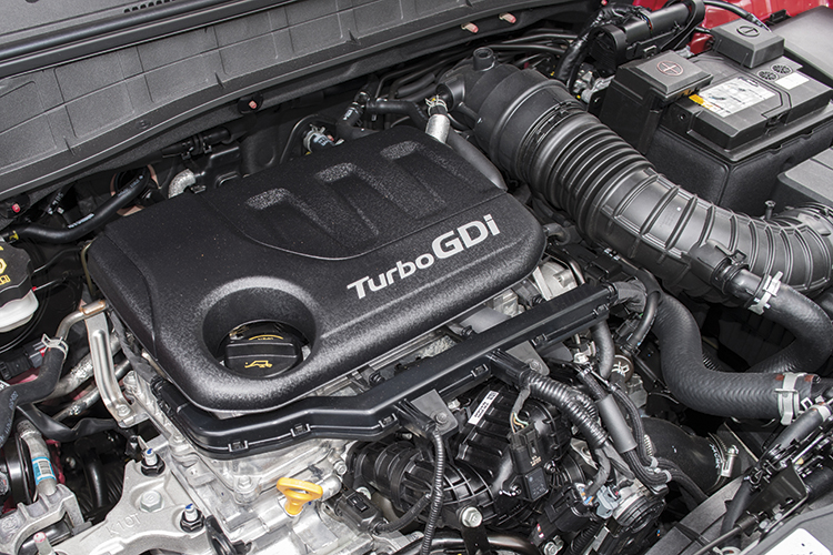 Hyundai Kona – Engine