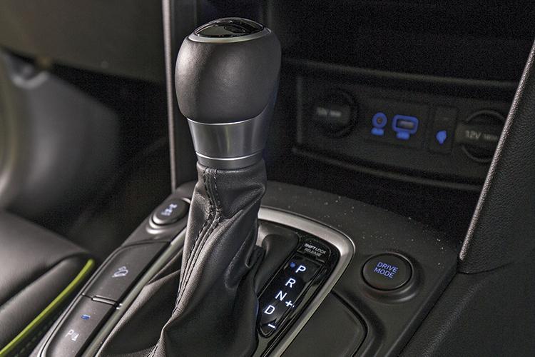Hyundai Kona – Gearbox