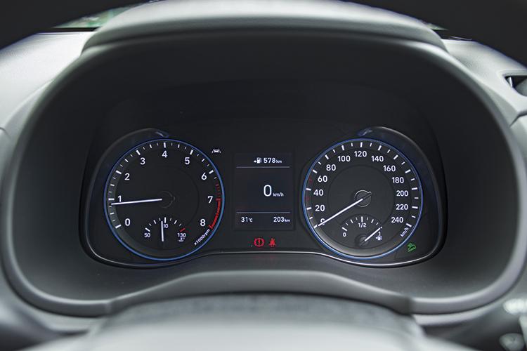 Hyundai Kona – Meters