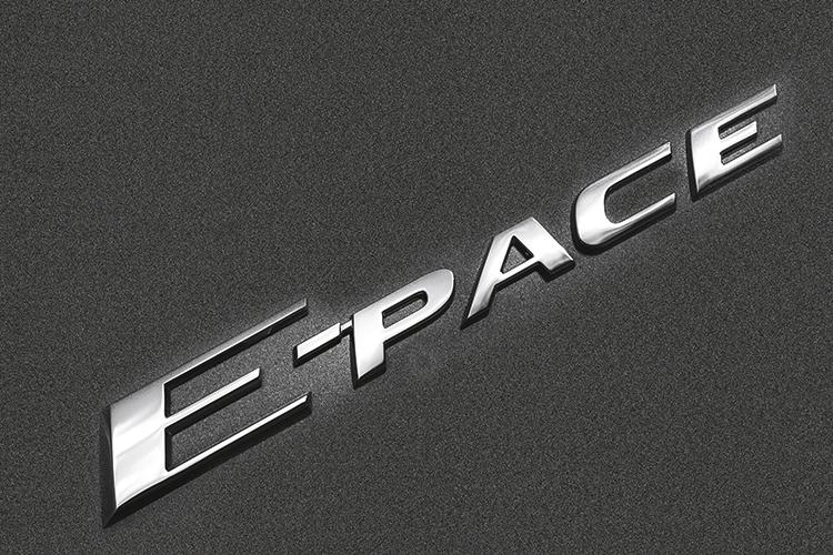jaguar e-pace badge