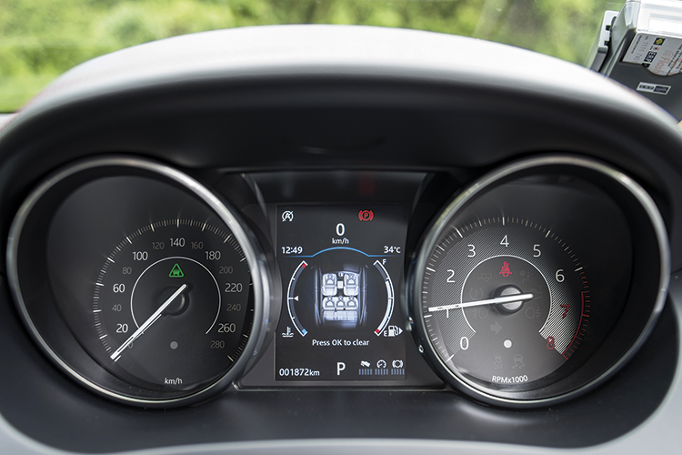 Jaguar E-Pace – Meters