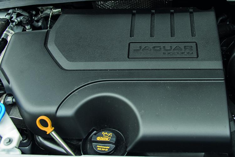 Jaguar E-Pace – Engine
