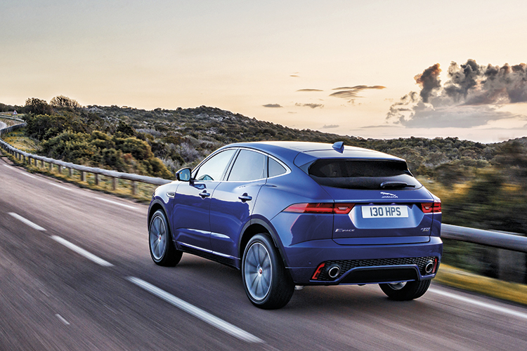 The Jaguar E-Pace has the necessary tools to compete with the Audi Q3, BMW X1/X2 and Volvo XC40.