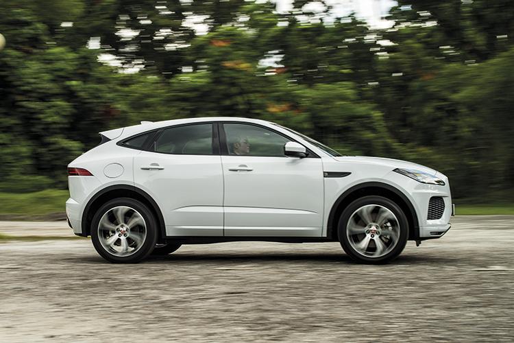 Jaguar E-Pace – Ride & Handling