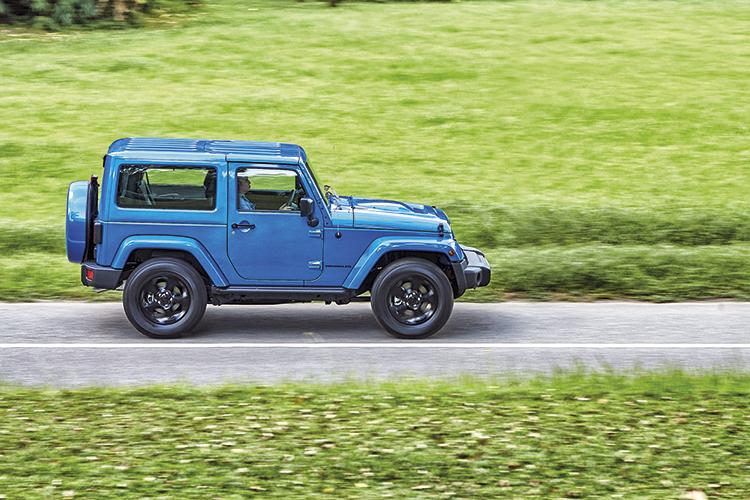 jeep wrangler panning