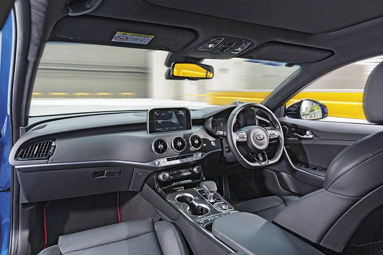 Kia Stinger GT-Line – Cockpit