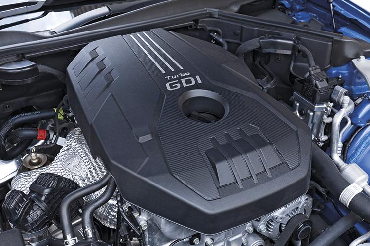 Kia Stinger GT-Line – Engine