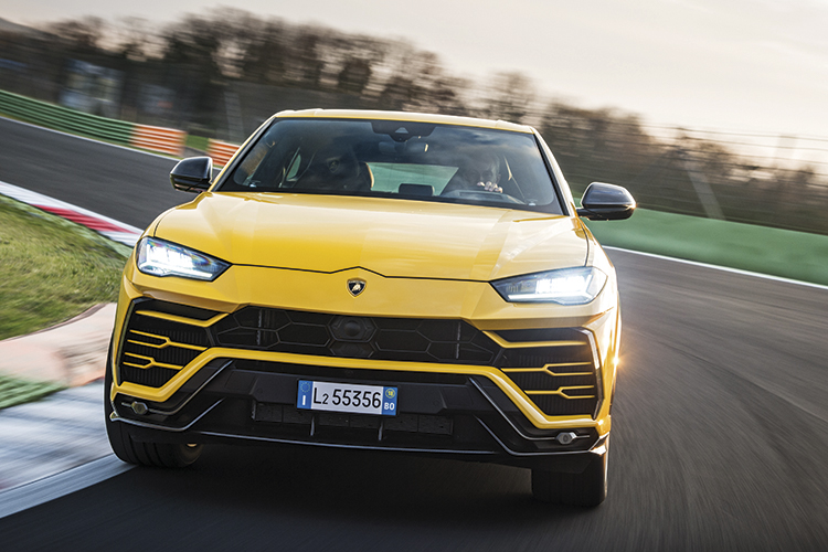 Lamborghini Urus Suv Radiates An Ultra High Performance Aura Torque