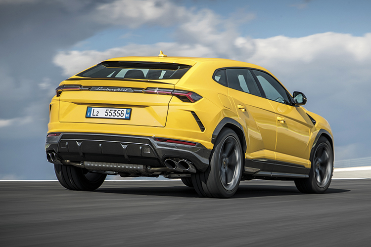 Lamborghini Urus doesn't kiss the tarmac like other Lambos do, but acquits itself extremely well on a racing circuit.