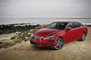 lexus gs static front angle