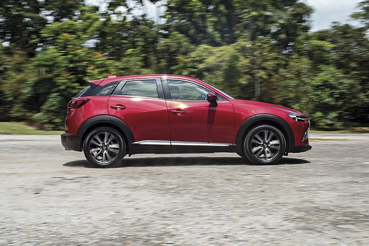 Mazda CX-3 – Ride & Handling