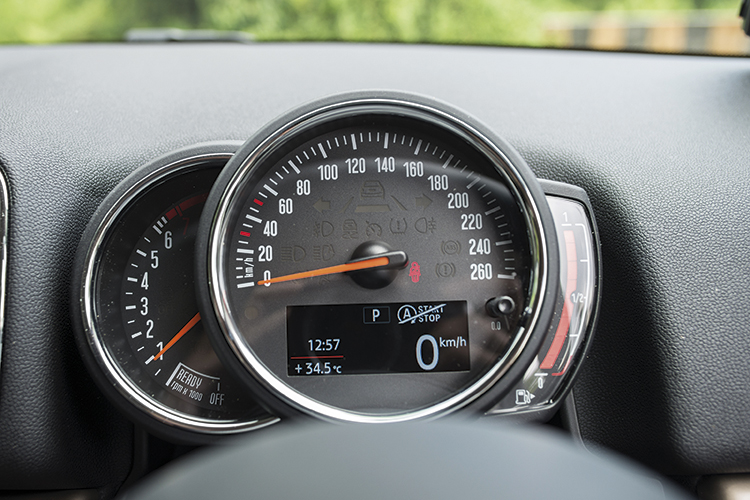 MINI Cooper S Countryman – Meters