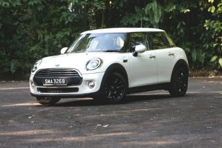 mini one five-door front static