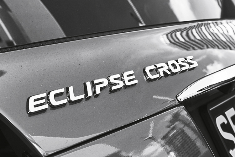 mitsubishi eclipse cross badge