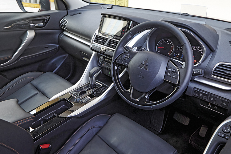 Mitsubishi Eclipse Cross has a user-friendly cockpit that's well-made and surprisingly, features paddle shifters made from more expensive magnesium alloy instead of cheaper plastic.