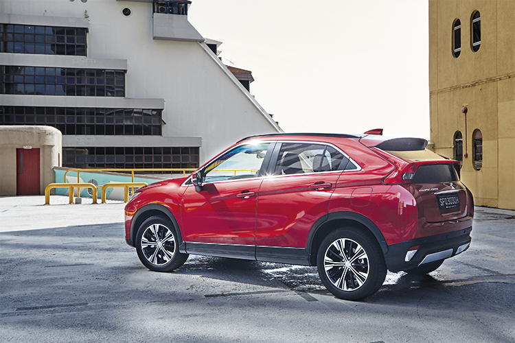 The Mitsubishi Eclipse Cross is the most compelling Mitsubishi available today.