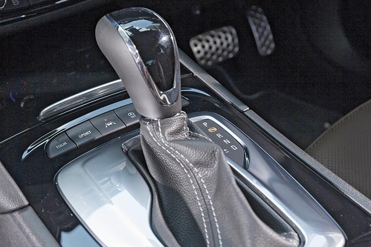 Opel Insignia Grand Sport – Gearbox