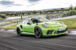 The Porsche 911 GT3 RS is no greenhorn when it comes to keeping rampant performance under control and communicating clearly with a quick driver.